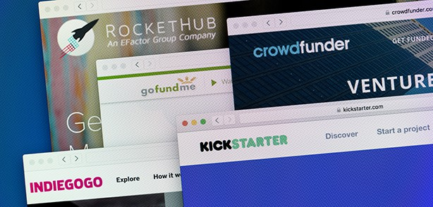 Crowdfunding Indiegogo Kickstarts and Others
